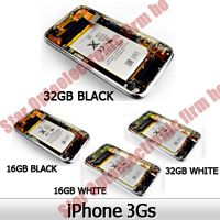 Full Back Cover Housing Assembly Battery for iPhone 3GS
