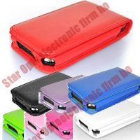 iPhone 3G 3th trendy Flip PU Leather Case Cover Pouch