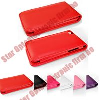 Good Leather Case Cover Pouch for iPod Touch 4G 4 4th