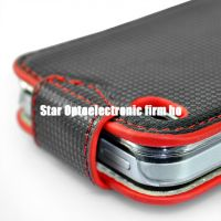 New Textured Leather Case for iPhone 4G 4 The 4th Gen