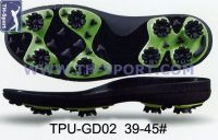 New Style Golf Shoes Sole