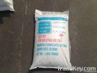 calcium chloride 74%min white flakes