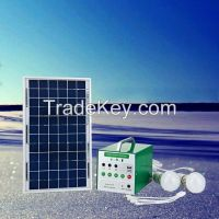 Low Cost Solar System 10W Panel for Camping Light