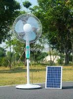Solar DC Pedestal Fan for DC Solar System