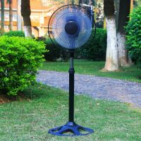 2 Years Warranty Cheap Price 12 Inch Solar Rechargeable Stand Fan with Brushless DC Motor