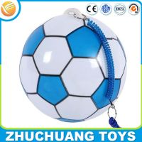 kids best gift inflatable football soccer training balls with string