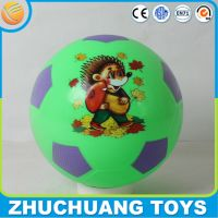 new print design pvc plastric soccer ball sports ball