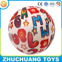 wholesale printed inflatable world map ball for kids