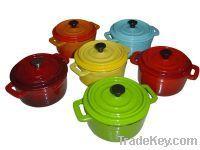 Cast iron mini casserole
