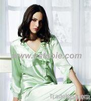 soft silk pajamas