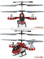 New F012 4.5CH Mini Metal 4.5 Channel RC Remote Control Helicopter LED Light GYRO RTF