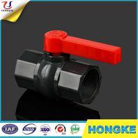 Hot Sale Grey Iran Plastic PVC Threaded Octagonal Ball Valve