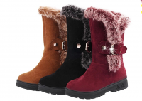 Ladies Fashion Boots with high quality suede fabric with good price