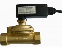 Differential pressure flow switch with fixed set point