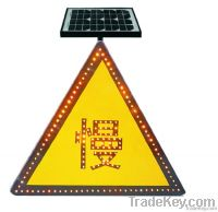Solar Traffic Signal Light