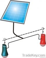 solar lighting lantern with mobile phone charger