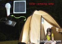 CE RoHS Rechargeable solar camping tent lighting,