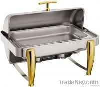 Roll-Top Chafing Dish Set