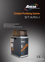 Coolant purifying machine