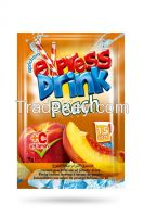 Peach instant powder drink