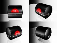 motorcycle tail box - CheTian 188 with MP3+ Alarm