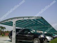 aluminum frame garden carport, automobile rain shelter, bicycle port