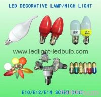 LED C7 C9 Christmas lamp bulbs