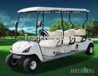 Hot selling 6 seater Electric Golf Cart DG-C6 with CE certificate(China)