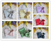Satin Favors Candy Drawstring Pouches Jewelry Gift Bag