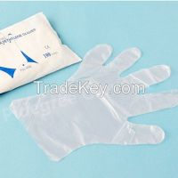 HDPE/LDPE Disposable PE Glove