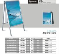 SWAY DISPLAY/ TRIPPLE SCREEN/ALU-LINE STAND
