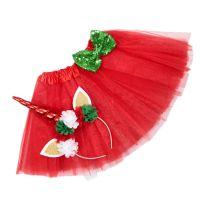 Unicorn Headband Princess Tutu Skirt Baby Girls Clothes Rainbow Kids Party Tutu for Girls Skirts set