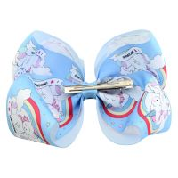 Boutique Baby/Infant/Girl Accessories Kid Pinwheel Hair Bows Clip