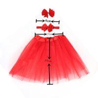 Baby Girls Princess Tutu Skirts/Hair Bow Clip/Hairband Headband Set