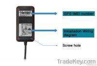 S116 Waterproof gps tracker