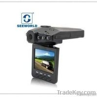 "H198 2.5"" night vision car dvr"