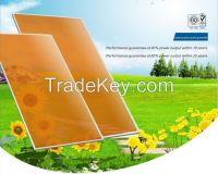 TUV Certified 20% Transparency Thin Film Solar Panels for BIPV, BAPV,Greenhouse