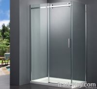 New design frameless sliding shower enclosure