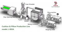 Pillow And Cushion Filling Machine