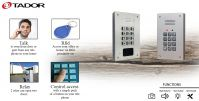 Telephone line door entry system