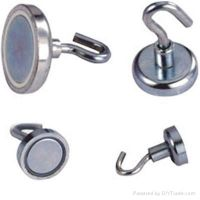 Pot (Cup) Magnets & Magnetic Hooks