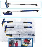 snow brush with a ice scraper