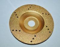 diamond brazed polishing wheel