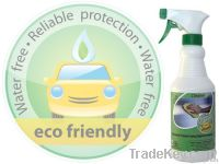 Year-round ecological cleaner, polisher and protecter for vehicles.