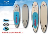 Inflatable Stand Up Boards along with the beautiful paddles in plastic, rubber and fiber and the wings attatched with lots of colors