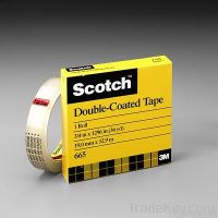 3M Scotch Double Sided Tape 1/2 665