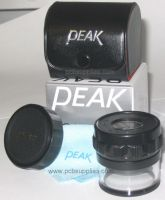 Peak 10X 32mm Measuring Magnifier Loupe w/ Scale