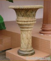 Marble Stone Flower Pot