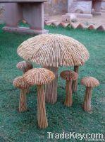 Stone Mushrooms Sculpture & Mushroom Sandstone Figurines