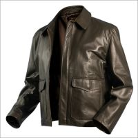 Sheep and Cow Skin Leather jacket